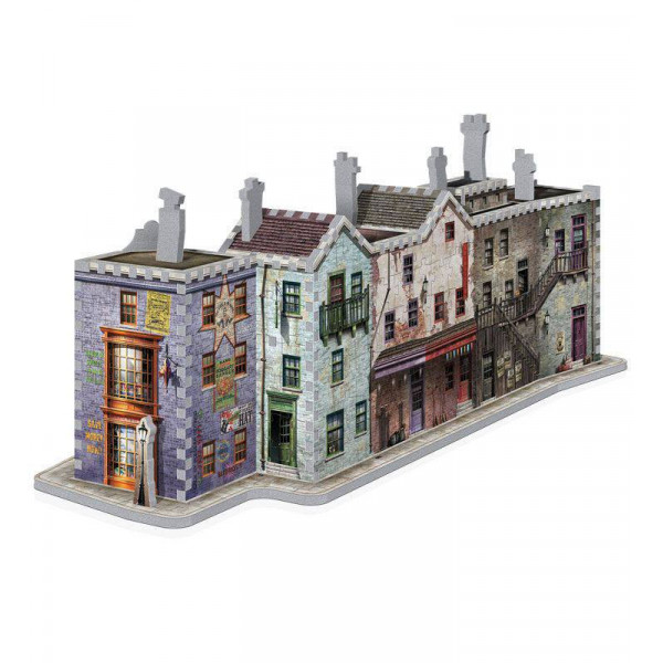 3D Puzzle Harry Potter: Diagon Alley (Built-Up Demo in Display Case)