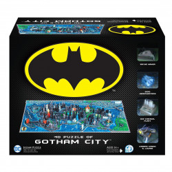 4D Large Puzzle Batman: Gotham City