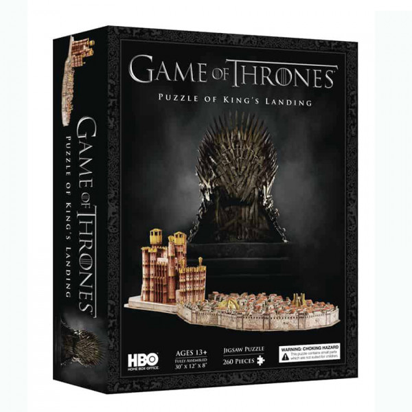 4D Puzzle Game of Thrones: King's Landing