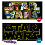 Heat Change Mug: Star Wars Logo