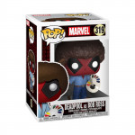 POP! Vinyl Bobble Head - Deadpool as Bob Ross
