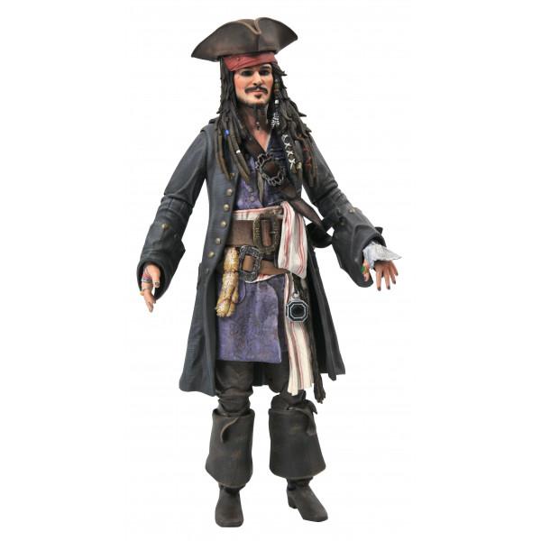 "Action Figure: Οι Πειρατές της Καραϊβικής Deluxe ""Τζακ Σπάροου"""