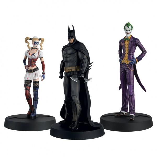 Σετ 3 φιγούρες για τα 10 χρόνια Batman Askham Asylum (κλίμακα 1:16)