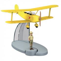 Διπλάνο Udet U12 Flamingo με τον Τεντέν