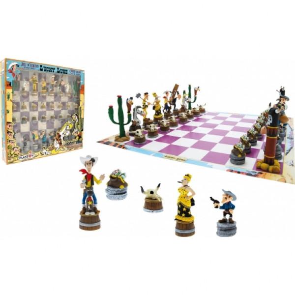 Chess Set: Lucky Luke