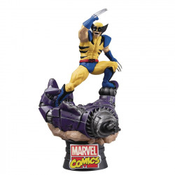 D-Select Diorama: Wolverine, X-Men's fierce warrior