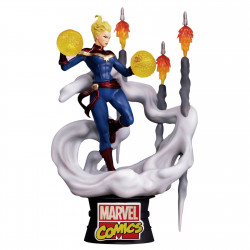 D-Stage Diorama: Captain Marvel