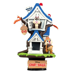 D-Stage Diorama: Disney Summer - Chip 'n Dale Tree House