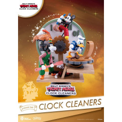 D-Stage Diorama: Mickey Mouse Clock Cleaners