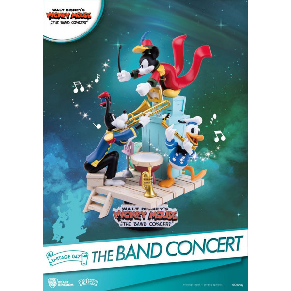D-Stage Diorama: Mickey Mouse The Band Concert