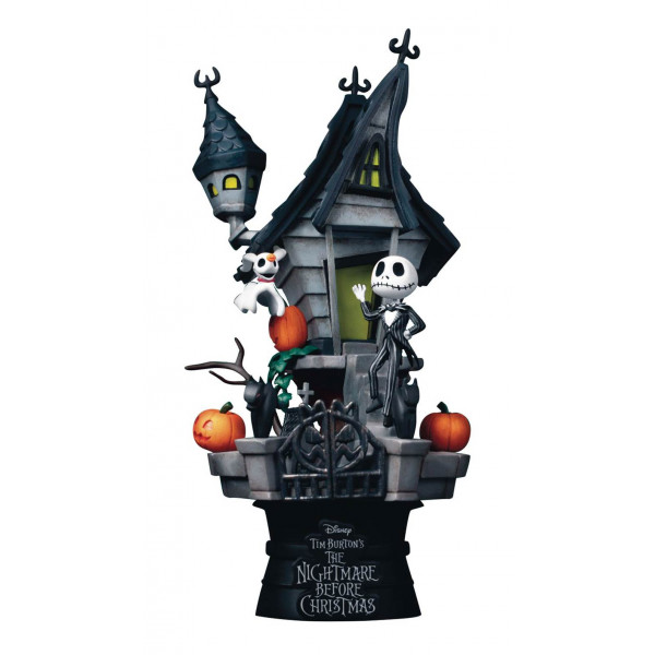 D-Stage Diorama: Nightmare before Christmas - Jack's Haunted House