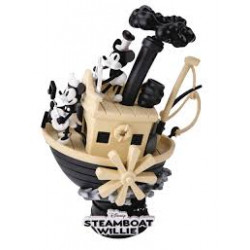 D-Stage Diorama: Steamboat Willie - Mickey & Minnie