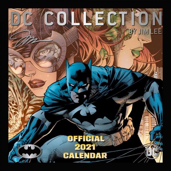 DC Collection by Jim Lee: Ημερολόγιο 2021 (στα Αγγλικά)