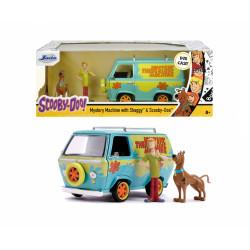Diecast Mystery Van με τον Σκούμπι-Ντου και τον Σάγκι (Κλίμακα 1:24)
