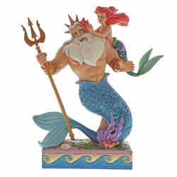 """Disney Enchanting Collection: Ariel and Triton """"Daddy's Little Princess"""""""