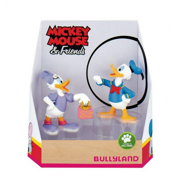 Disney Gift Box with 2 Figures Daisy and Donald