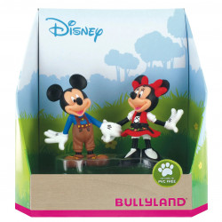Disney Gift Box with 2 Figures Mickey and Minnie Oktoberfest