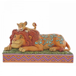Disney Traditions Lion King: A Father's Pride (Simba & Mufasa)