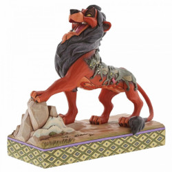 Disney Traditions Lion King: Preening Predator (Scar)