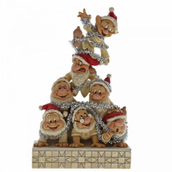 "Disney Traditions ""Precarious Pyramid with the Seven Dwarfs"""