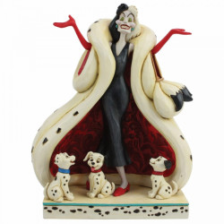 Disney Traditions: The Cute and the Cruel (Cruella and Puppies Figurine)