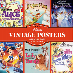 Disney Vintage: Ημερολόγιο 2021 (στα Αγγλικά)