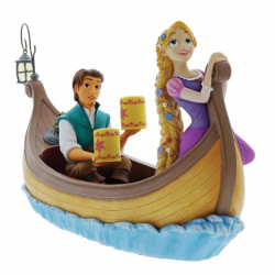 "Enchanting Disney Ornament: Rapunzel & Flynn Rider ""I See The Light"""