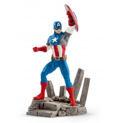 Figure: Schleich's Marvel # 02 - Captain America