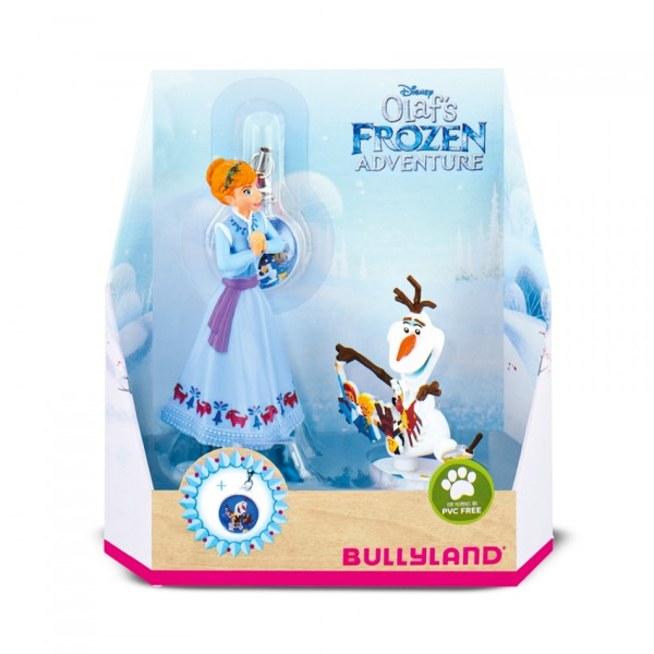 Frozen Gift Box with 2 Figures Anna & Olaf