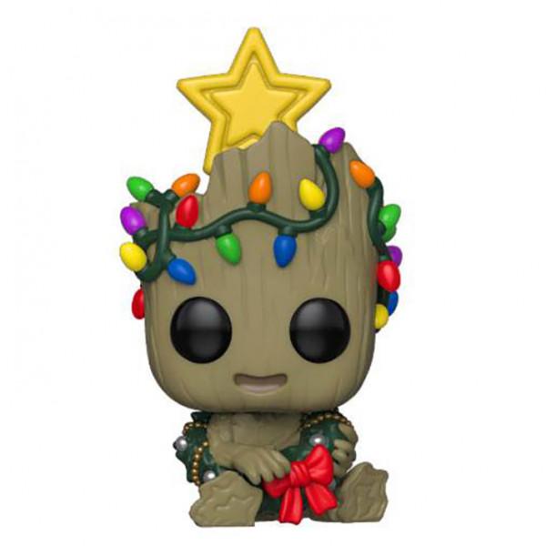 Guardians of the Galaxy POP! Vinyl Bobble-Head: Χριστουγενιάτικος Groot