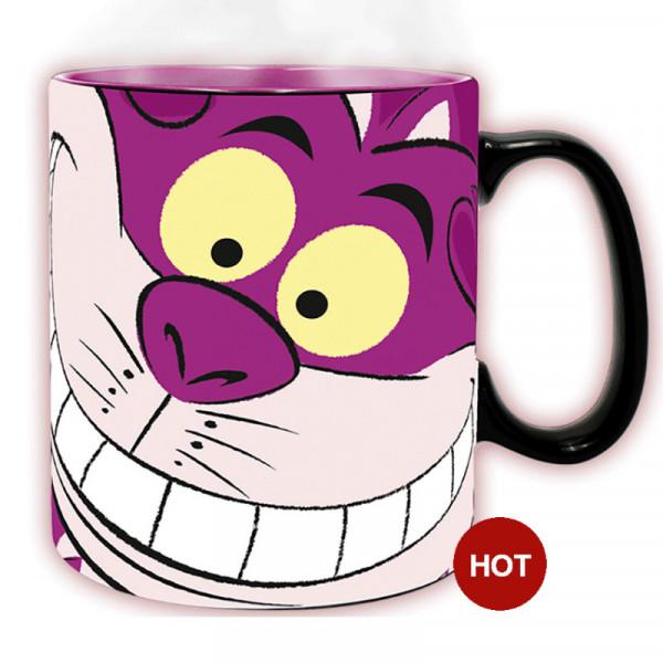"""Heat Change Mug: Alice in Wonderland """"Cheshire Cat"""""""