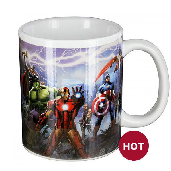 Heat Change Mug: Avengers