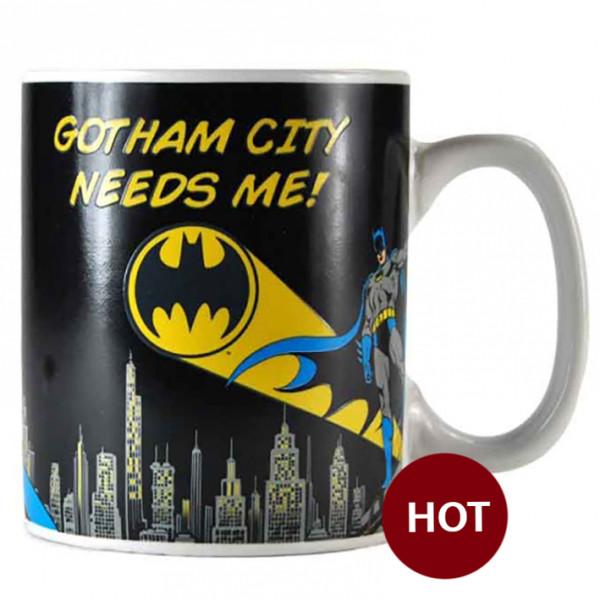 Heat Change Mug: Bat-Signal