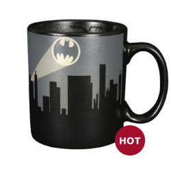 Heat Change Mug: Batman Dark Logo