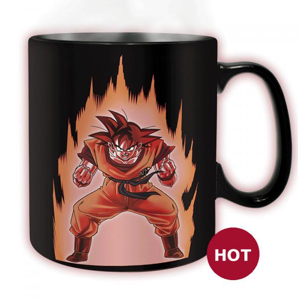 Heat Change Mug: Dragon Ball Z - Σον Γκόκου