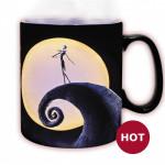 """Heat Change Mug: Χριστουγεννιάτικος Εφιάλτης """"O Τζακ και το φεγγάρι"""""""