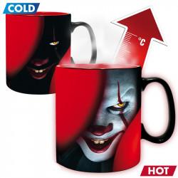 "Heat Change Mug: Pennywise ""Time to float"""
