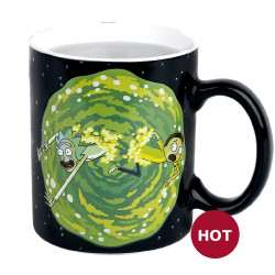 "Heat Change Mug: Rick and Morty ""Portals"""