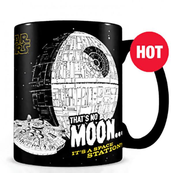 "Heat Change Mug: Star Wars ""That's No Moon"""
