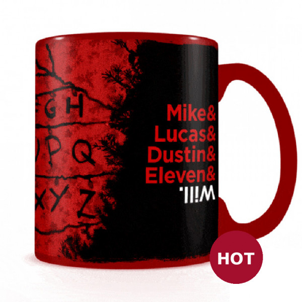 Heat Change Mug: Stranger Things (R, U, N)