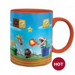 Heat Change Mug: Super Mario