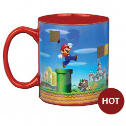 Heat Change Mug: Super Mario