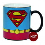 Heat Change Mug: Superman Costume