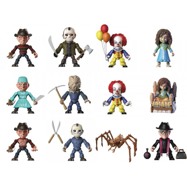 Horror Action Figures  Booster Pack (Wave 1)