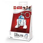 Μπρελόκ: Star Wars Lego -  R2-D2 με LED