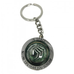 Keychain: Alien In Space - No One Can Hear You Scream