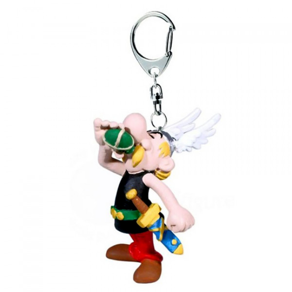 Keychain: Asterix drinking Magic Potion