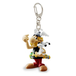 Keychain: Asterix with Idefix