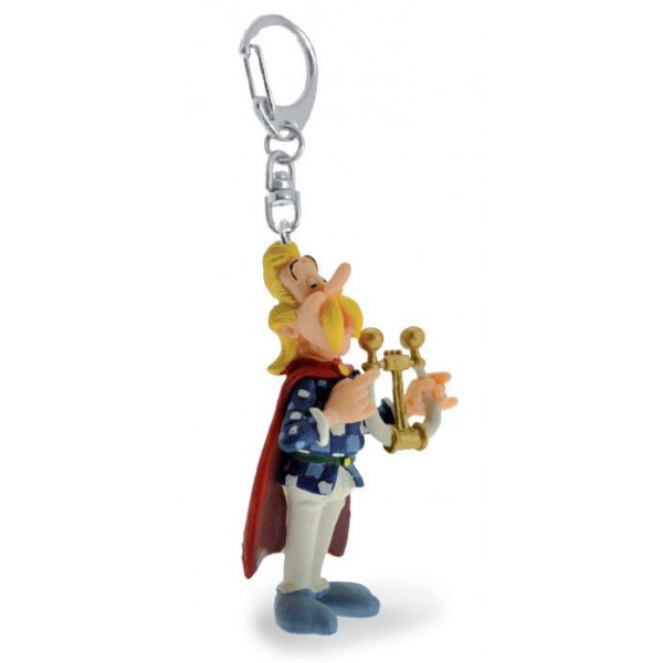 Keychain: Cacofonix playing his lyre