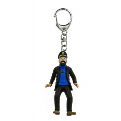 Keychain: Captain Haddock (mini)
